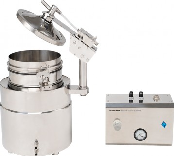 Introducing new wet sieving equipment VBL-FS